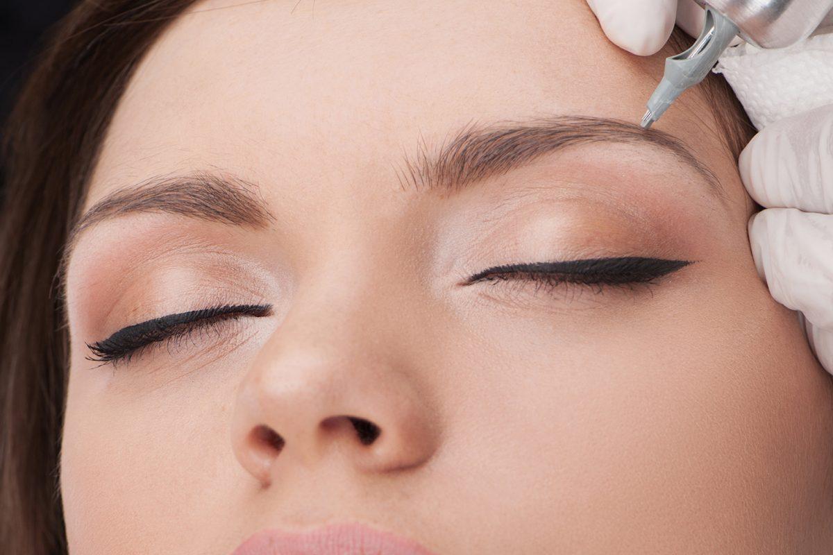 Microblading Semi Permanent Eyebrow Makeup